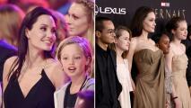Así han cambiado los hijos de Angelina Jolie, ¡son todos unos adolescentes!