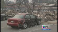 Detenidos por saquear casas incendiadas