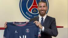 Así presentó el Paris Saint Germain el fichaje de Sergio Ramos