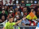 Con el 'Chucky' Lozano 20 minutos, el Napoli igualó ante la Roma