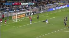 Santiago Mosquera inicia la jugada, corre media cancha y perfora las redes, San Jose 2-2 FC Dallas