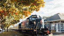 Estos son los paseos en tren que no puedes perderte en Georgia durante el otoño