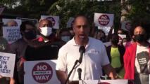 Líderes y activistas de Austin lanzan campaña para frenar la propuesta A