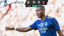 Con penal fallido de Bale, el Real Madrid igualó ante el Milan