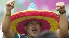 Samara se pinta de verde y amarillo para el juego definitivo entre México y Brasil