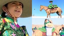 Jovencitas crean el primer equipo ecuestre de charrería en Valle de Coachella