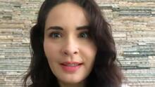 """""""Las crisis traen cosas buenas"""": Adriana Louvier admite que hizo algo inimaginable en este tiempo de cuarentena"""