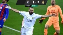 El Real Madrid derrotó al Eibar y ya es segundo en España