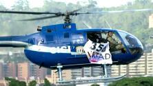 """Maduro dice que fue """"un ataque terrorista armado"""" el sobrevuelo de un helicóptero de la policía en Caracas"""