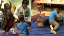 """(Video) Maestras usaron a sus alumnos como 'gallos de pelea' porque los niños """"estaban aburridos"""""""