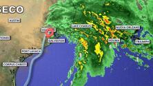 Nicholas deja inundaciones severas en Texas y hay temor por sus efectos en zonas de Louisiana golpeadas por Ida