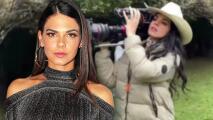 ¿Livia Brito cambia de profesión?: ahora la actriz muestra sus dotes, y fuerza, como camarógrafa