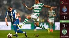 Porto de HH y 'Tecatito' Corona no pudo con el Sporting, que se llevó la Copa de Portugal