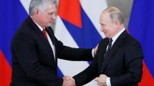 """Putin se reúne con Díaz-Canel y asegura que a Cuba y Rusia los une """"la amistad, el apoyo mutuo y la ayuda"""""""