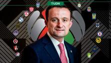 Mikel Arriola será presidente de Liga MX en lugar de Enrique Bonilla
