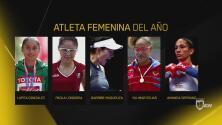 Cinco grandes deportistas nominadas al premio Atleta Femenina del Año