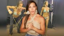 Vanessa Guzmán como no la habías visto: estos fueron los instantes previos a su debut en competencia