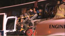 Múltiples víctimas hispanas en un accidente de autobús ocurrido en el norte de California