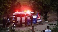 Comienzan a salir los primeros niños rescatados de la cueva en Tailandia