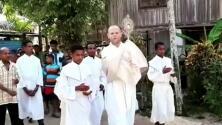 """""""Sería un sueño"""": misionero argentino pide ayuda para afectados por la pandemia en Papúa, Nueva Guinea"""