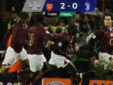 Futbol Retro l Se cumplen 14 años del 'baile' del Arsenal sobre la Juventus