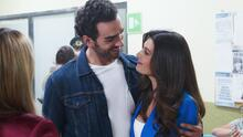Martín salió de la cárcel y lo festejó besándose con Alicia