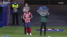 Héctor Herrera vuelve a la Champions tras recuperarse de su lesión
