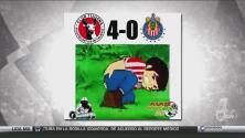 Chivas fue el blanco de los memes de la tercera jornada de la Liga MX