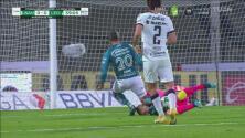 ¡Tremenda colisión! Julio González choca fuerte contra Gigliotti
