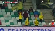 ¡GOL!  anota para Estonia. Henri Anier