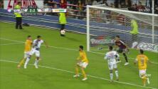 Franco Jara no perdona de cabeza y Pachuca empata 2-2 contra Tigres