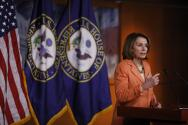 """Nancy Pelosi sobre Jeff Sessions: """"El perjurio es un crimen y tiene consecuencias"""""""