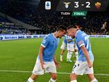 ¡Candente derbi romano! Lazio deja sin gloria a la Roma de Mourinho