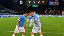 Lazio se lleva el Derby della Capitale sobre la Roma de Mourinho