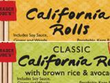 """Sushi, """"spring rolls"""" y otros productos vendidos en Trader Joe's retirados del mercado por inquietudes relacionadas con una bacteria"""
