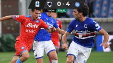 Lozano se luce con dos asistencias para el triunfo del Napoli