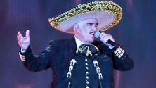 Familia de Vicente Fernández demandará a la revista que asegura el cantante sufre muerte cerebral