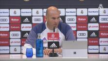 """Zinedine Zidane: """"No vamos a cambiar la idea que tenemos"""""""