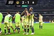¡América sigue imparable! Su víctima fue Santos con triunfo de 2-1