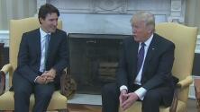 Donald Trump reacciona en Twitter al acuerdo de libre comercio pactado por Estados Unidos, México y Canadá