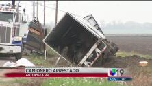 Accidente de tránsito se debió a unas copitas de más