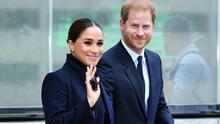 Primeras imágenes de Meghan Markle y el príncipe Harry por su encuentro con Bill de Blasio en Nueva York