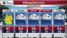 A partir de este jueves 17 de Noviembre descenderán las temperaturas en Sacramento