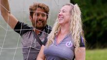 """""""Que alguien me ayude"""": Bobby Larios no pudo culminar su prueba y acabó por desatar la risa de Evelyn"""