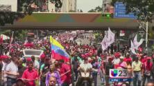 'Toma de Caracas' exige el referendo revocatorio contra Nicolás Maduro
