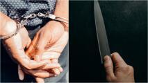 Arrestan a hombre que amenazaba a personas con dos cuchillos de cocina en el Lower East Side