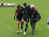 Alan Pulido prende las alarmas en el Tri tras salir lesionado