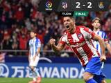 Luis Suárez y el VAR salieron al rescate del Atlético de Madrid