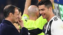 Allegri confirma que Cristiano Ronaldo seguirá en la Juventus