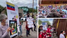 Protestan frente al muro fronterizo en Arizona a favor del asilo y el fin del Título 42